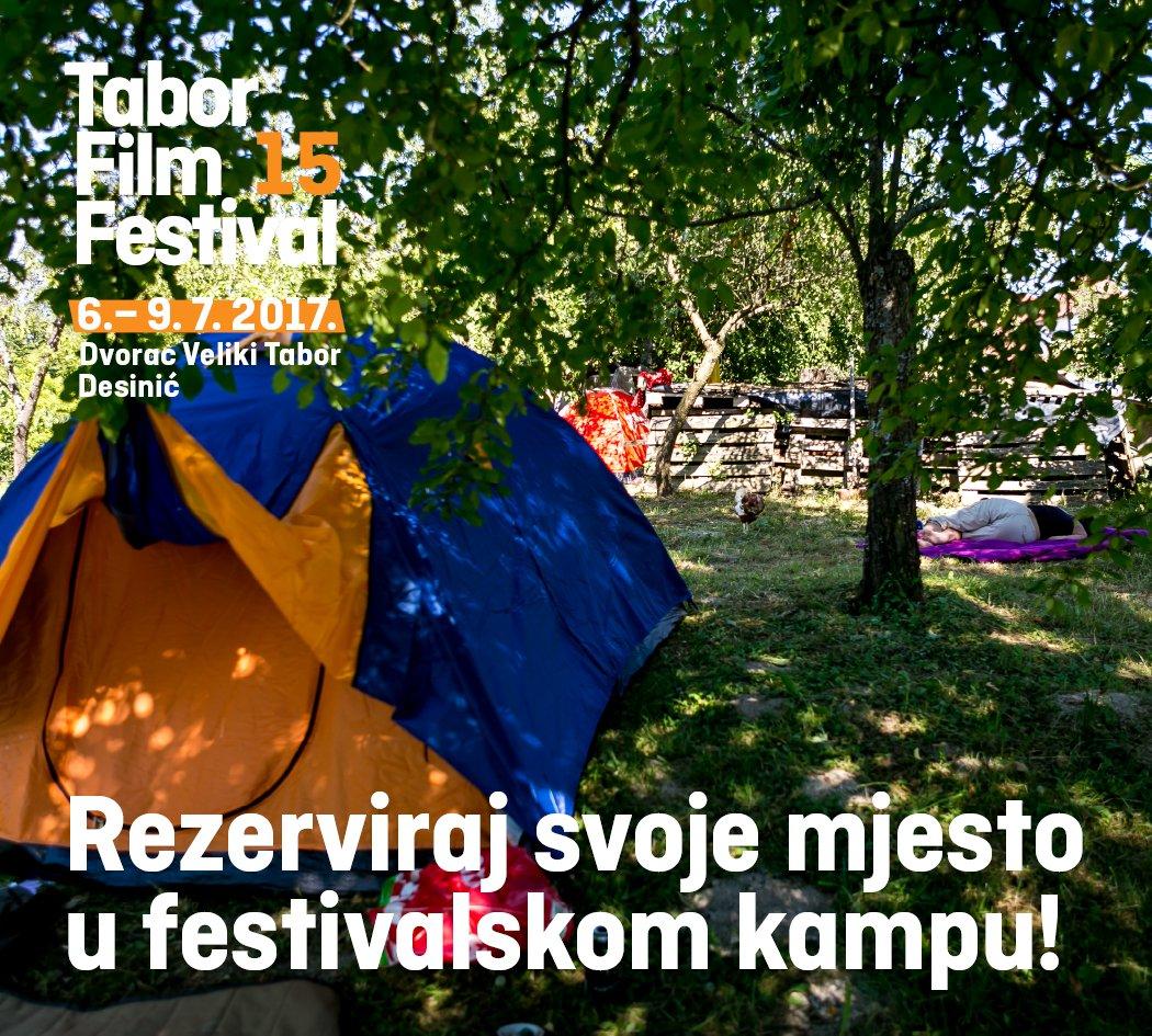Rezervirajte svoje mjesto na kamp.tff@gmail.com (u prijavi istakći ime i prezime svih osoba u šatorima, njihove e-mail adrese i broj šatora)