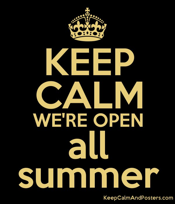 Pikt O Norm On Twitter We Are Open All Summer Contact Your