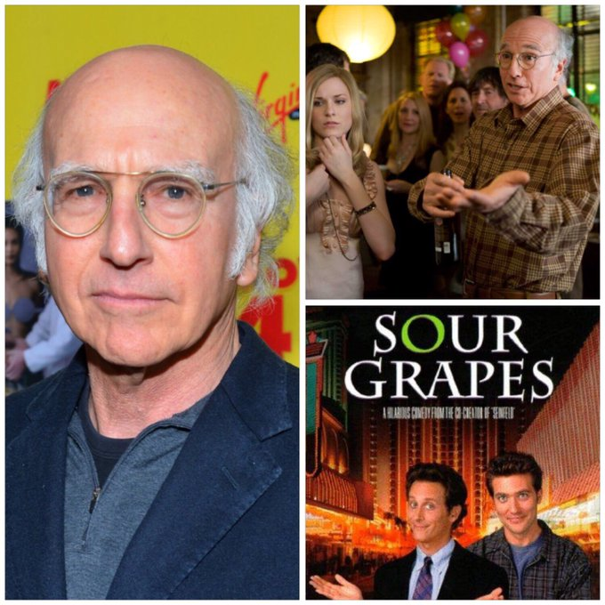 Happy 70th birthday to actor/writer/producer Larry David! In film: