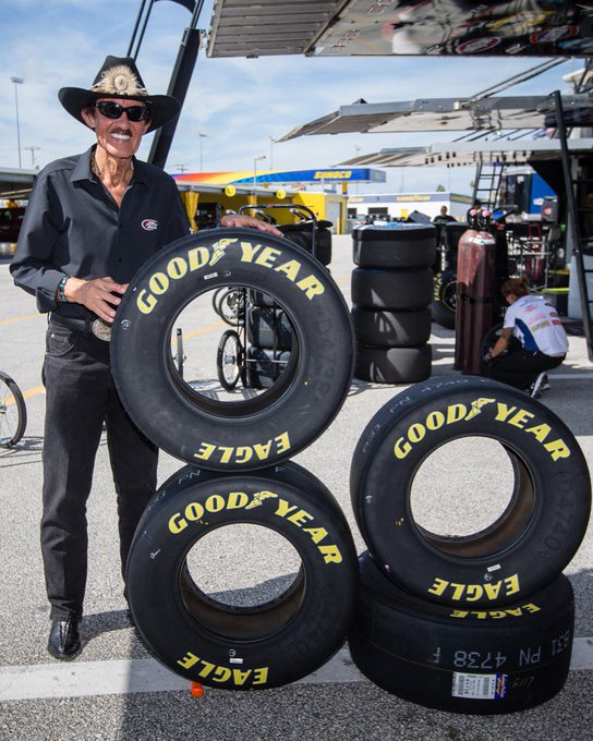"""Look who\s 80. Happy birthday to American legend, \""""King\"""" Richard Petty."""