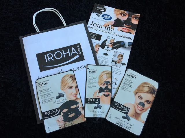 Beauty Addict 32: Charcoal Skincare from Iroha*