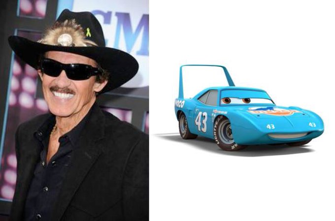 Happy 80th Birthday to Richard Petty! The voice of The King in Cars and Cars 3.
