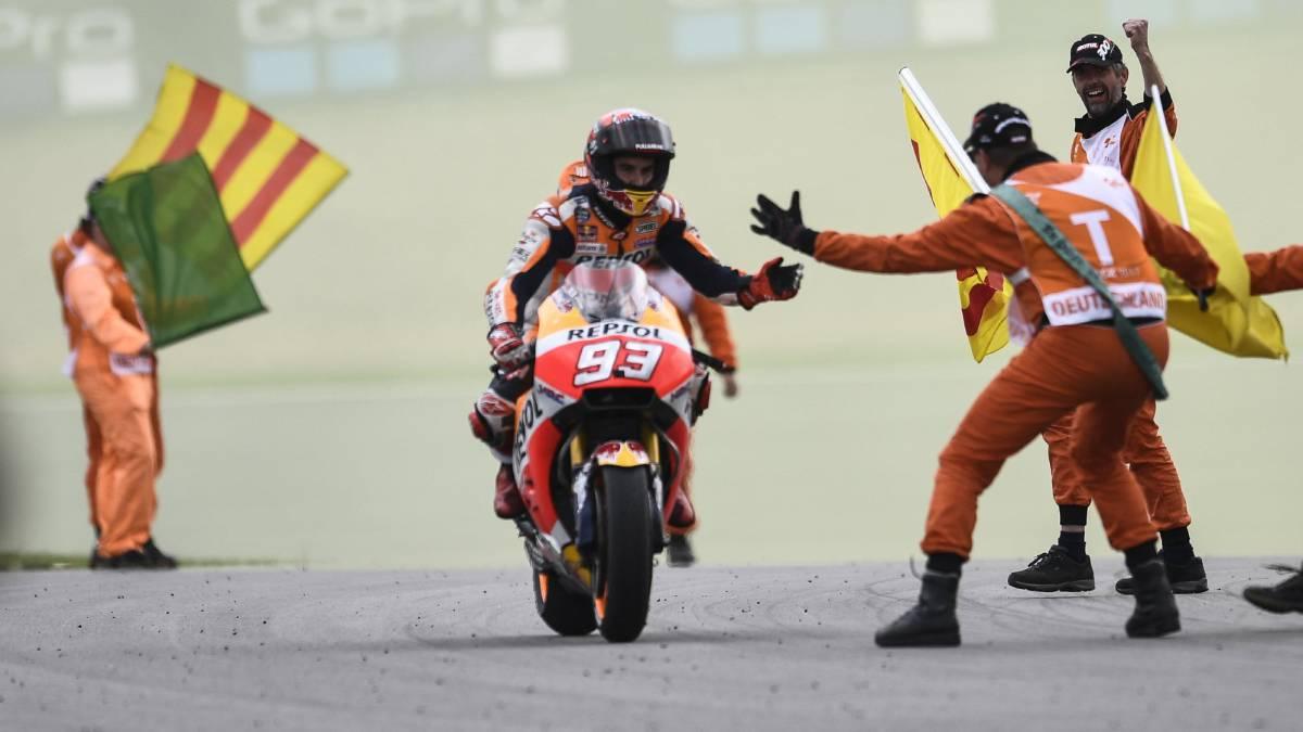 MotoGP: 8 volte Marquez in Germania, 5° Valentino Rossi. Prossima gara a Brno (Repubblica Ceca) il 6 agosto