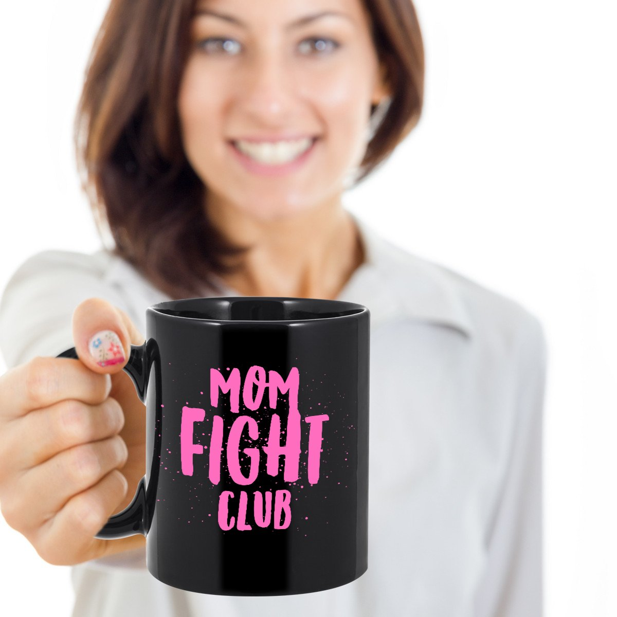 Here's how I #DisappointYourMotherIn3Words #MomFightClub  https://www.gearbubble.com/momfightmug