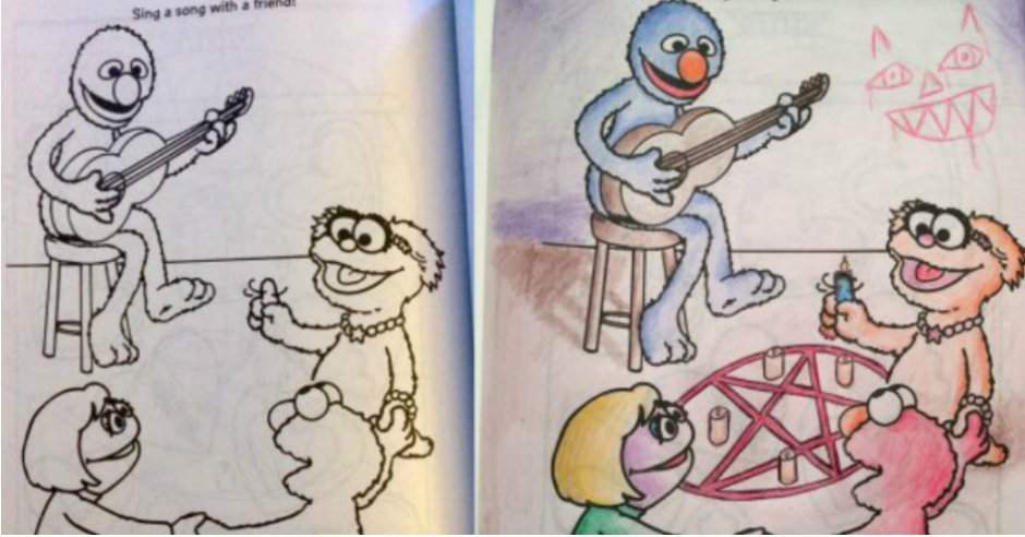 CollegeHumor On Twitter 20 Naughty Coloring Book Pictures That Are Way Outside The Lines