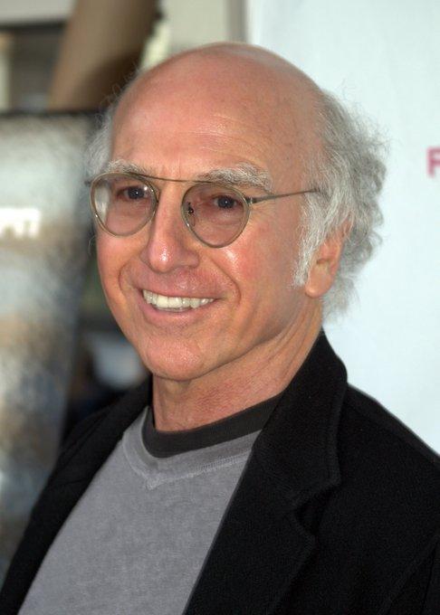 Women love a self-confident bald man. Larry David Happy Birthday