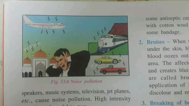 ભણવાની ચોપડીમાં  મસ્જિદના લાઉડ સ્પીકર પરથી થતા મોટા અવાજો પ્રદૂષણનું કારણ દર્શાવાતા વિવાદ