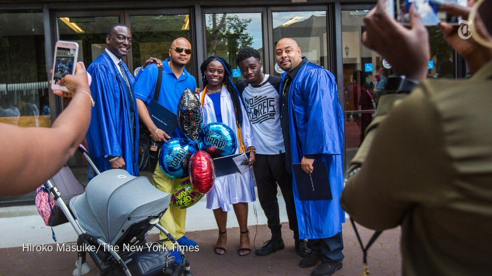 Members of the Central Park 5 got to enjoy what they were denied years ago — a high school graduation https://t.co/EBJPpOKfeX https://t.co/8KemDo3uRb