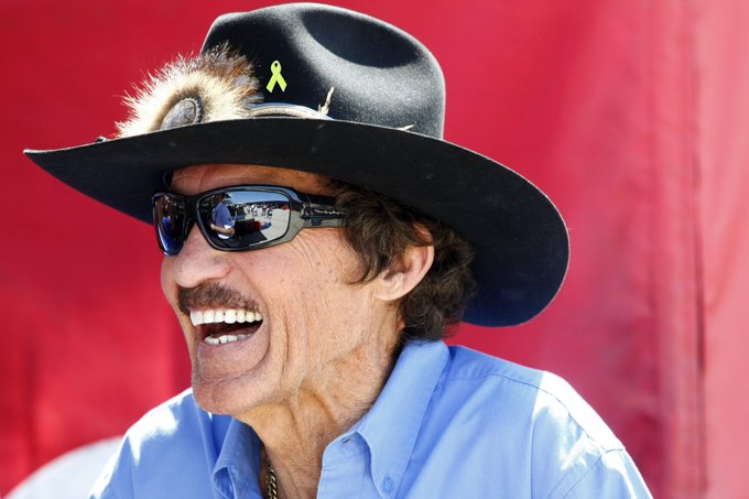 To help us wish a Happy 80th birthday to \The King\ Richard Petty!