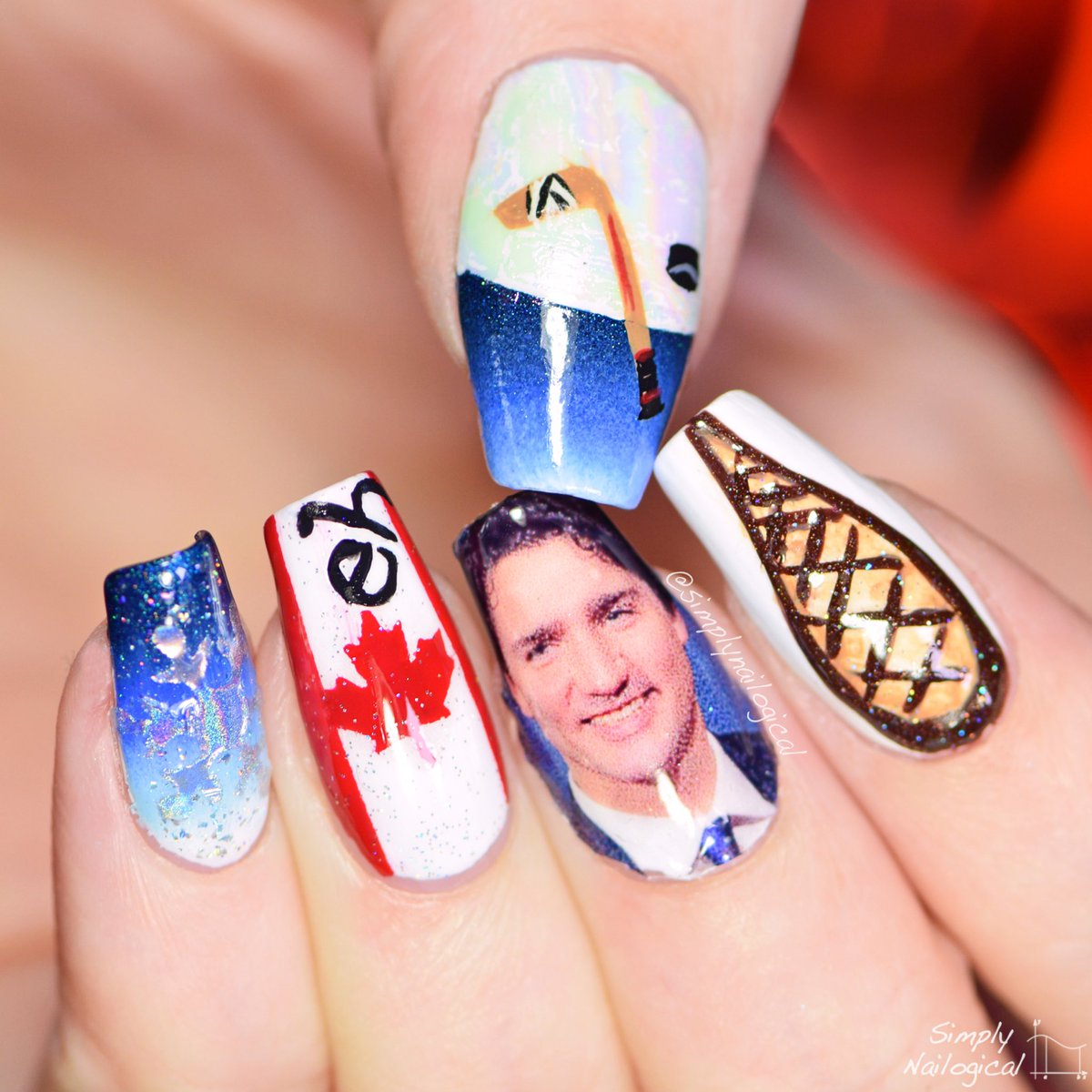Simply Nailogical On Twitter Last Time I Put Trump My Nails So It S Only Fair The Leader Of Own Country Too