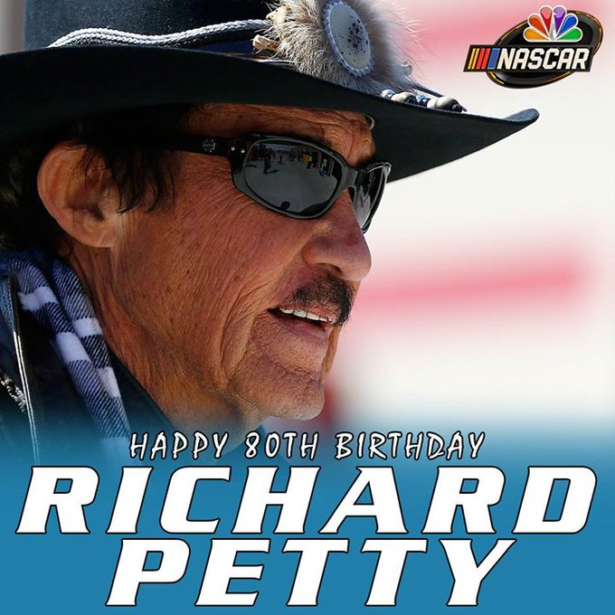 Happy birthday Richard Petty