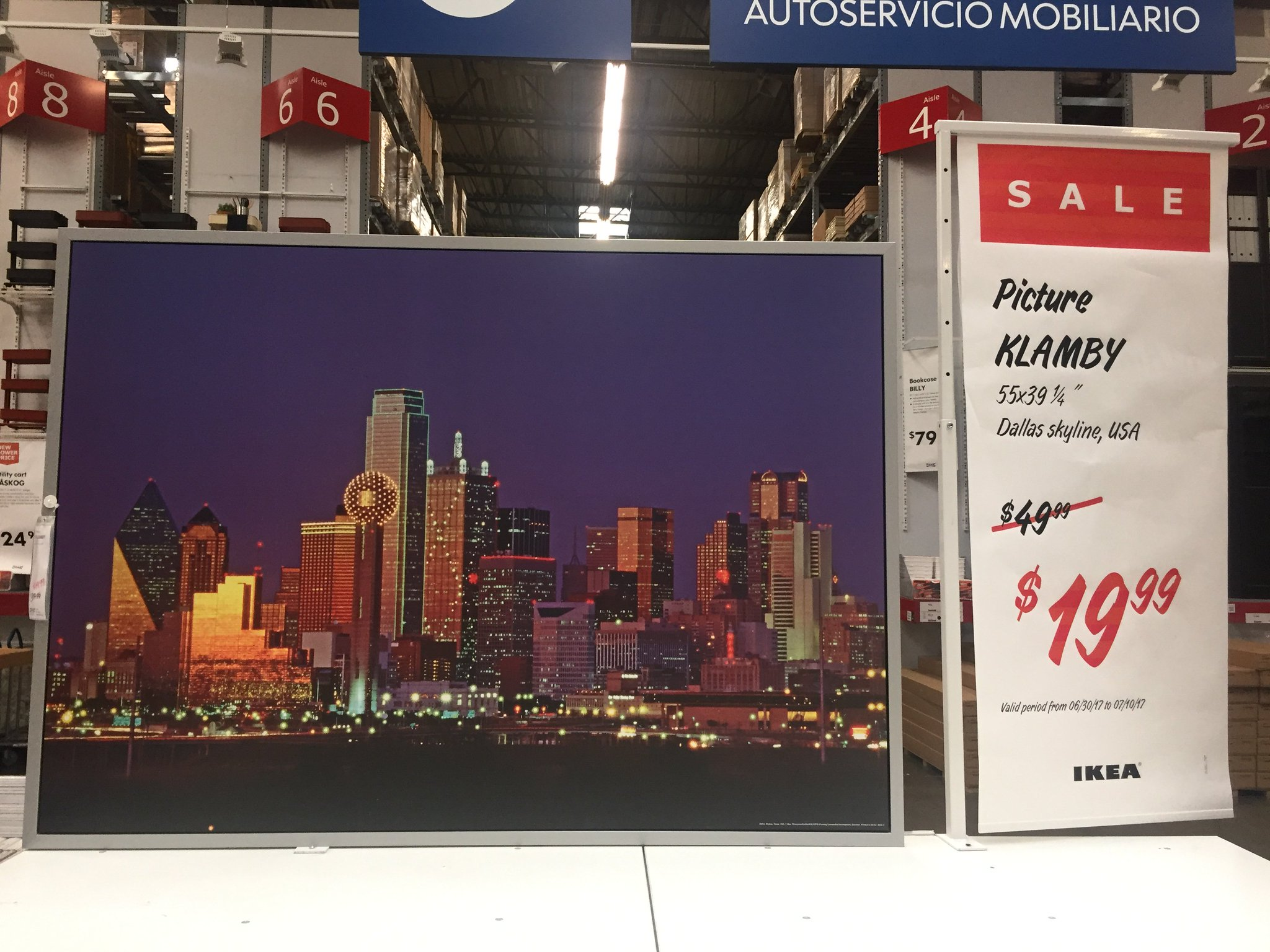 Ikea Frisco On Twitter Be Dallas Proud Our Klamby Picture Of The Dallassskyline Is Only 19 99 © inter ikea systems b.v. ikea frisco on twitter be dallas