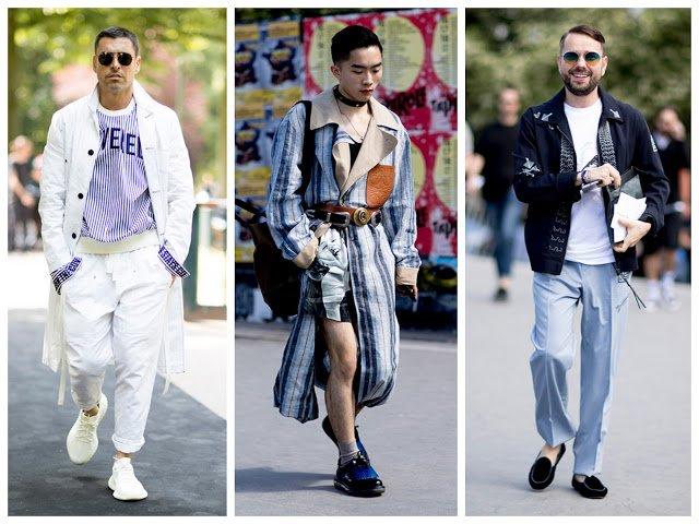 Men's Paris Fashion Week SS18: Street Style