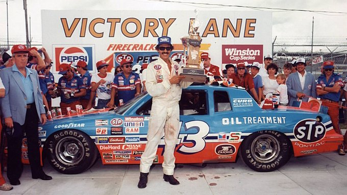 Happy Birthday to 7-time Nascar Cup Champion Richard Petty