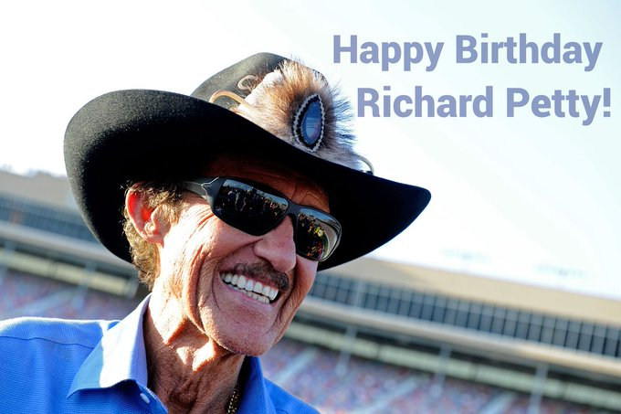 Happy Birthday Richard Petty! 80 Years!