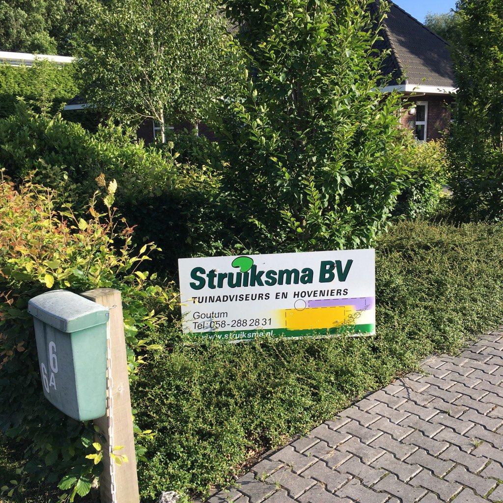 Voor deskundig tuinadvies moet je vanzelfsprekend bij Struiksma BV zijn