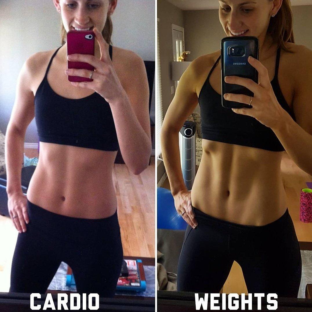 Обязательно кардио при похудении