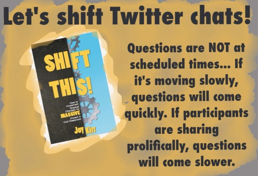 Join tonight for week 1 (chapters 1-4) of our next #ShiftThis book study! https://t.co/GLoxaknDSb #tlap 7pm CST https://t.co/e9H63m8qqO