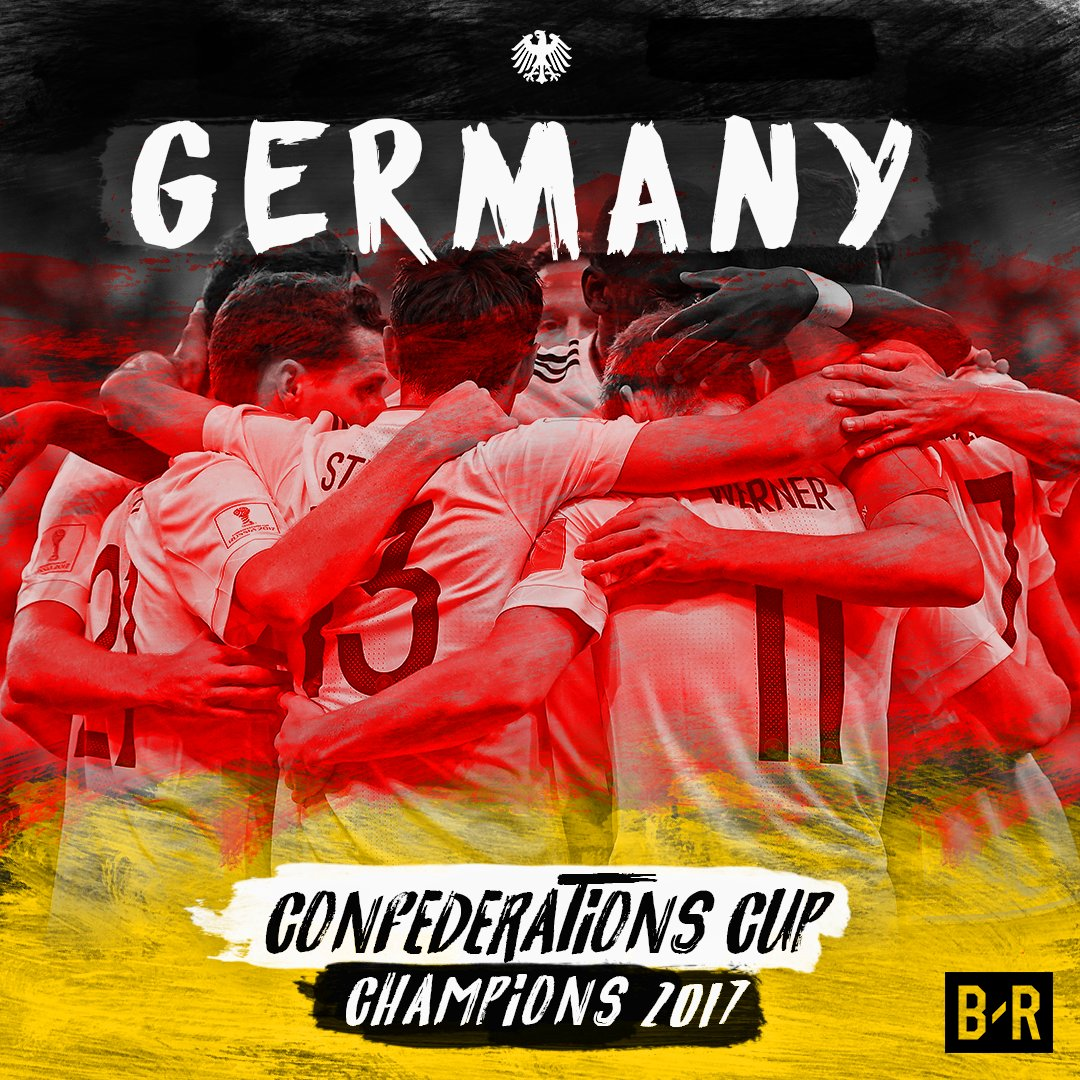Germany are the 2017 Confederations Cup champions 🏆 🇩🇪 #ConfedCup