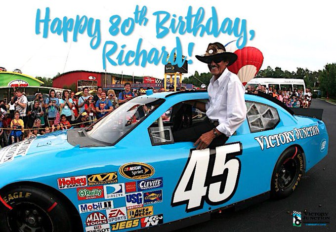 Help us wish a very Happy Birthday to The King of Richard Petty!