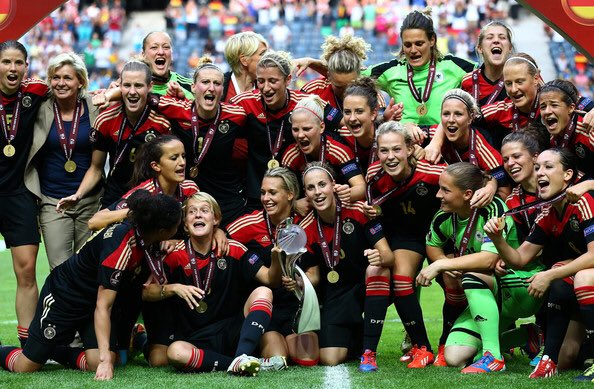 Germany 🇩🇪  🏆 World Cup Champions 🏆 European U21 Champions 🏆 Confederations Cup Champions 🏆 Women's Euro Champions   Unstoppable nation 😳⚽️👏