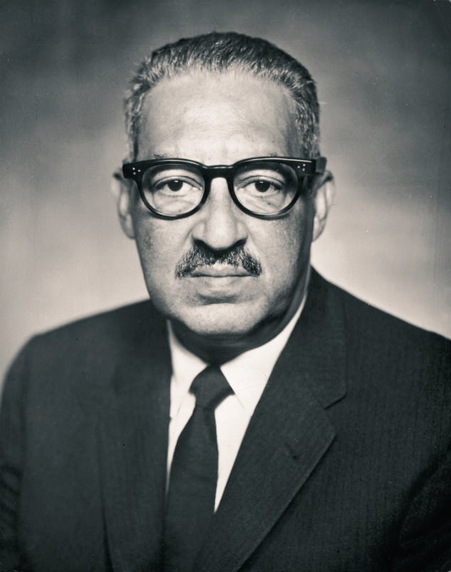 """""""The Ku Klux Klan never dies. They just stop wearing sheets because sheets cost too much.""""  ~Justice Thurgood Marshall born #OTD in 1908"""