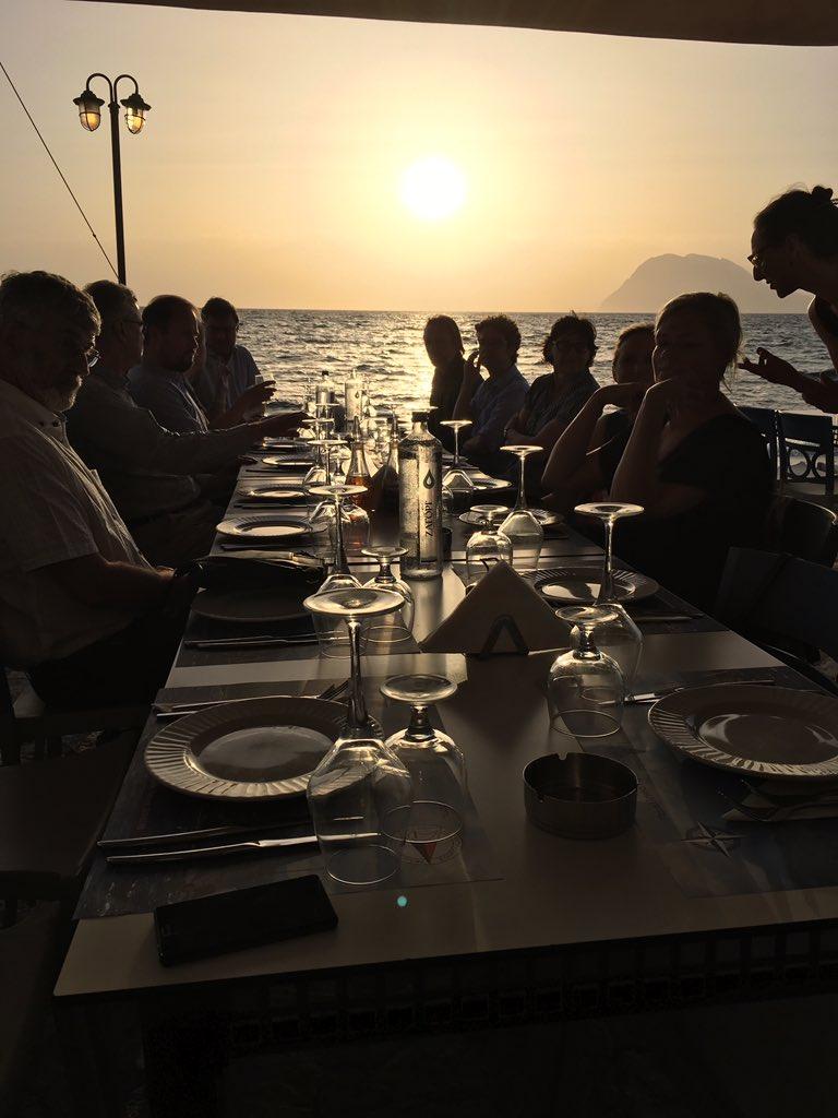 New colleagues, great insights, interesting conversations, great food & beautiful venue #YachtClub #Patras #Liberemergingleaders https://t.co/vQKo6D3gj8