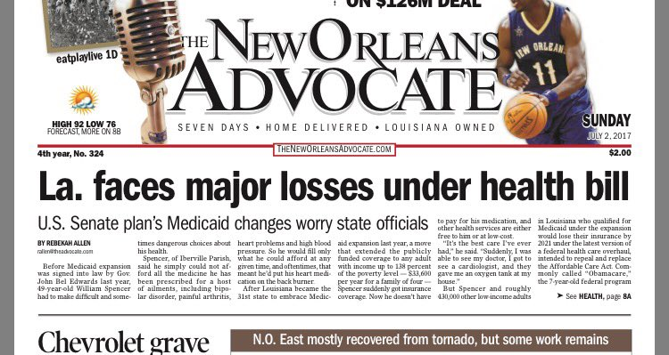 Thumbnail for Dan Diamond on local coverage of health care reform