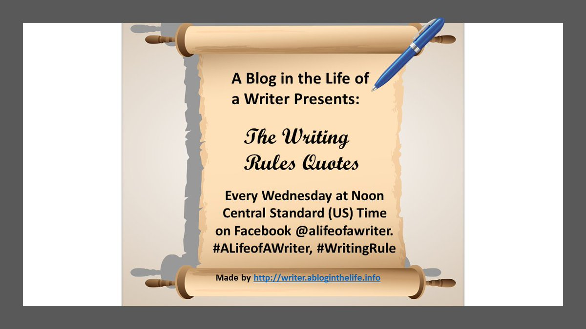 A Life Of A Writer At Alifeofawriter Twitter