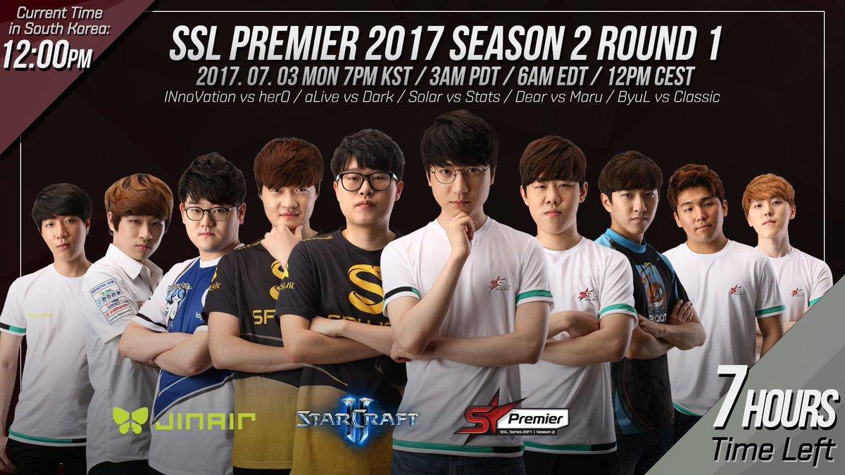 2017 SSL Premier 2. szezon 1. hét