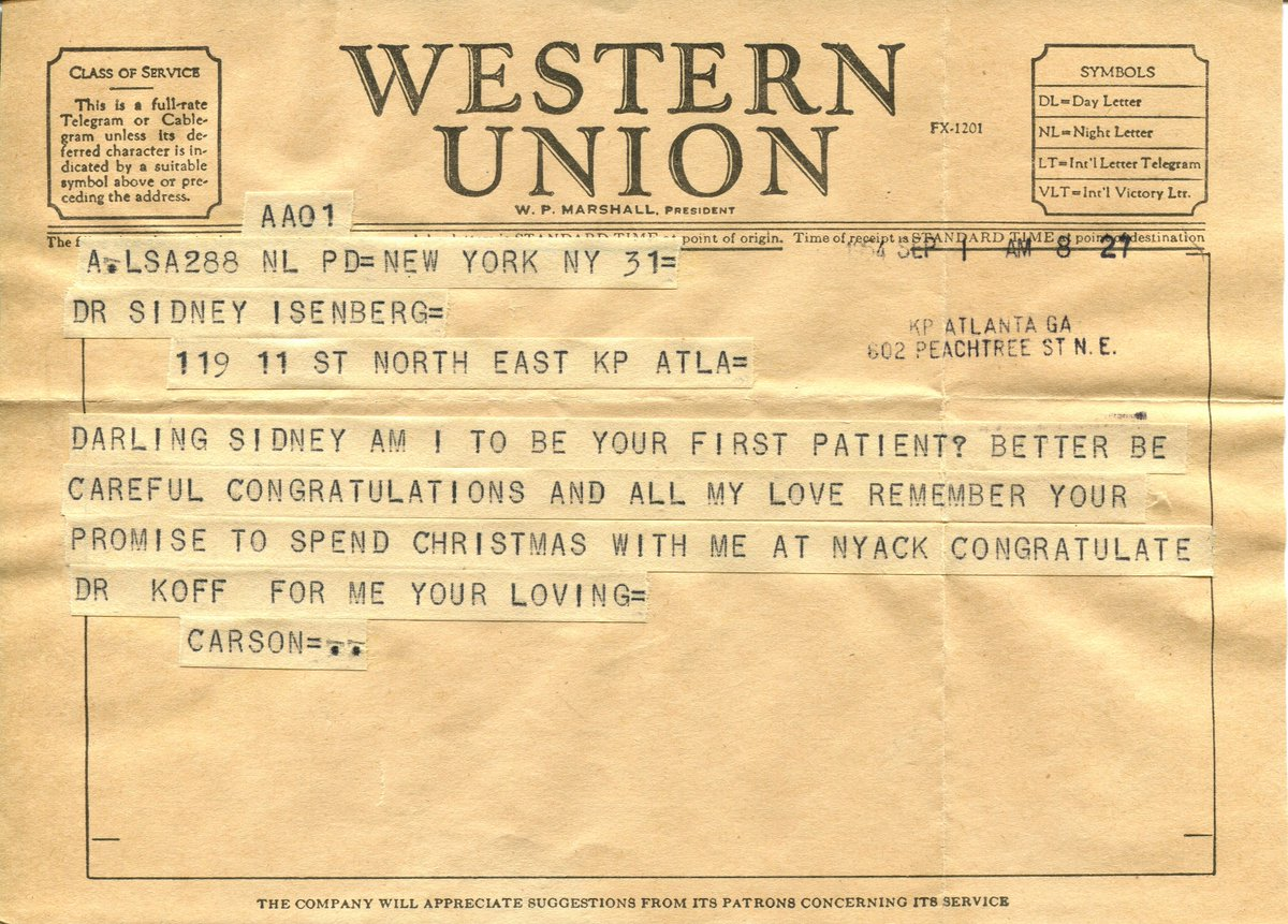 Milligram On Twitter 14 Curious Telegrams From And To Famous