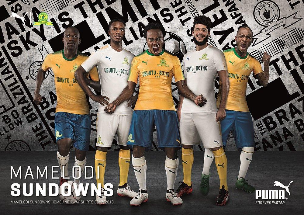 South Africa Jersey Size M Mamelodi Sundowns Football Shirt Afrikanische Vereine Fußball-Trikots
