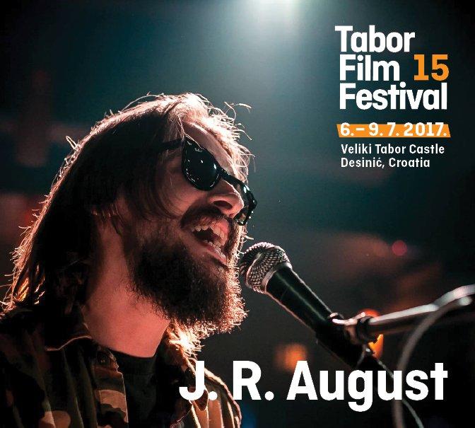 J.R. August ima čak dva nastupa na TFF-u. Kako i zašto pročitajte u intervjuu: bit.ly/2tHvfHi Vidimo se za 3 dana!
