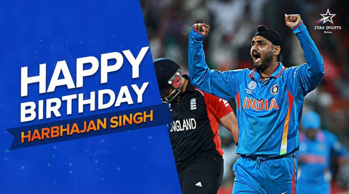 Wishing you a very wonderful Happy Birthday to the Indian spinner
