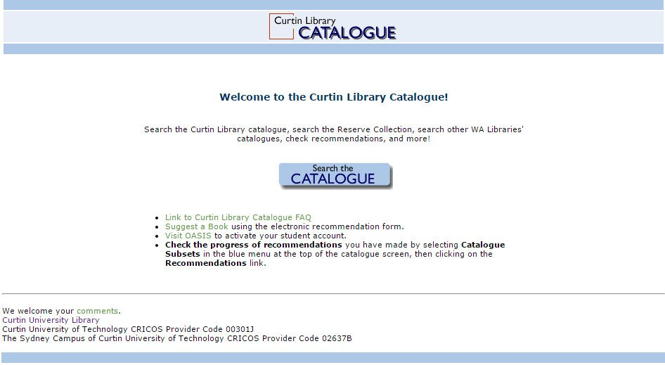 Curtin Library on Twitter: