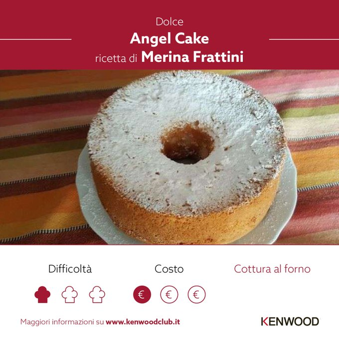Angel cake / KENWOOD Club