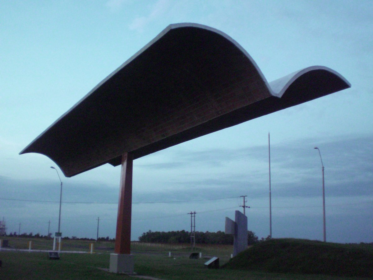 TAKA Architects on Twitter  Double Cantilever Canopy. Originally Petrol Station Canopy - now sculpture at entrance to town. Salto. Uruguay. & TAKA Architects on Twitter: