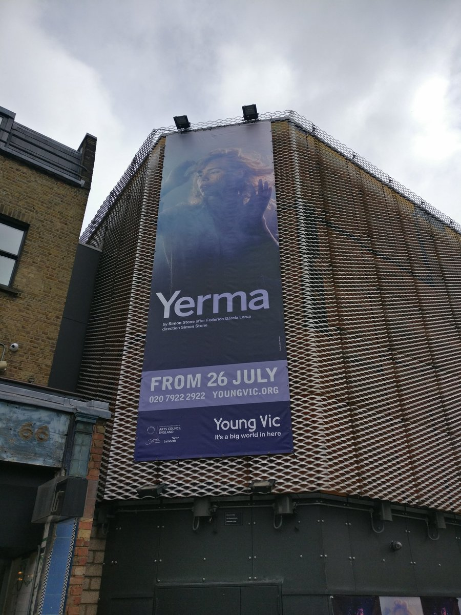 Sorry to say goodbye to #LifeofGalileo but HELLO #Yerma. Welcome back! <br>http://pic.twitter.com/F9EDdjmNW1