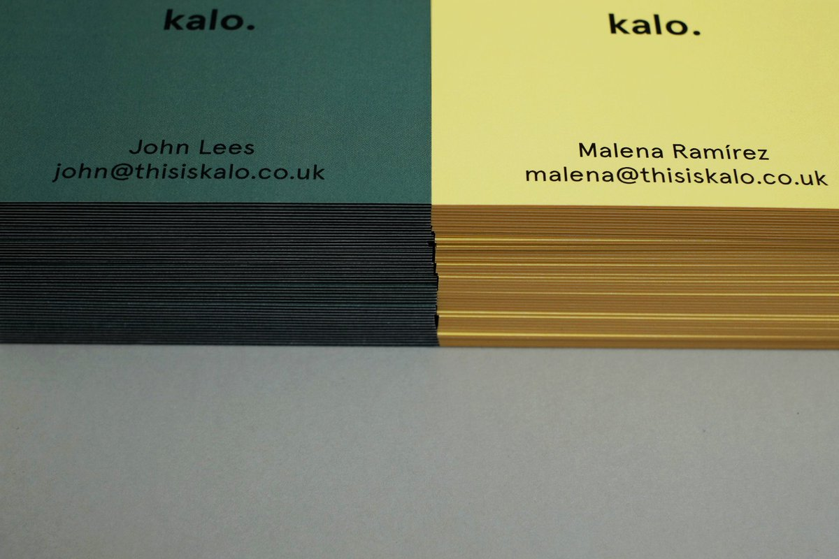 Kalo on twitter oh yeah our new business cards have just arrived our new business cards have just arrived to the office rebranding businesscards identity designbykalo reheart Gallery