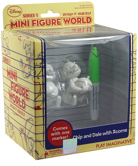 Disney Design It Yourself Mini Figure World £1 @ Poundland