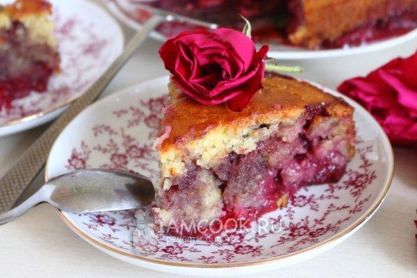 пирог с брусникой рецепт