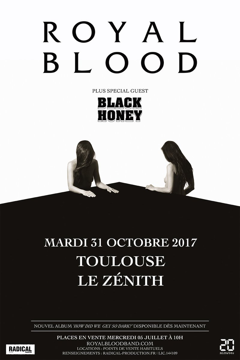 Halloween Toulouse.Royal Blood On Twitter Toulouse Halloween Show Announced 31st October Tickets On Sale From Wednesday At 10am Https T Co I6dtbullye
