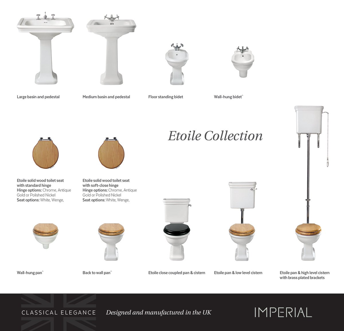 Imperial Bathrooms ImpBath Twitter - Soft close wooden toilet seat