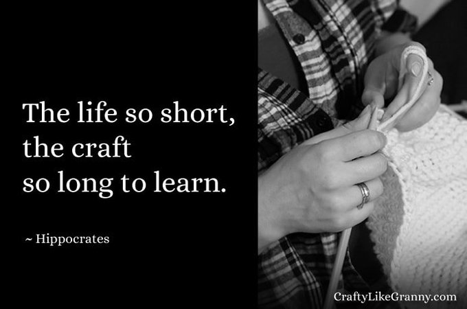 Lifelong Learning of Craft
