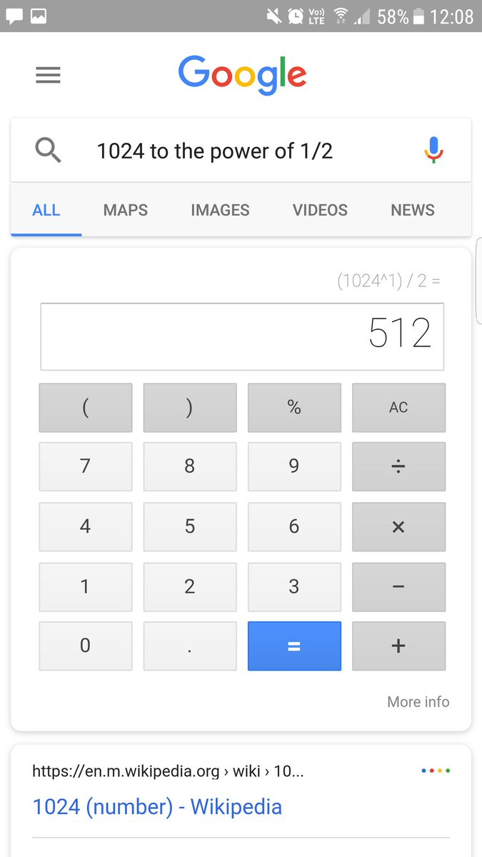 @Google good try, but wrong! (I said &quot;ten-twenty-four to the power of a half&quot; in my Australian accent). Literal conversion? #Googlevoice <br>http://pic.twitter.com/UcRl2GN9Gi