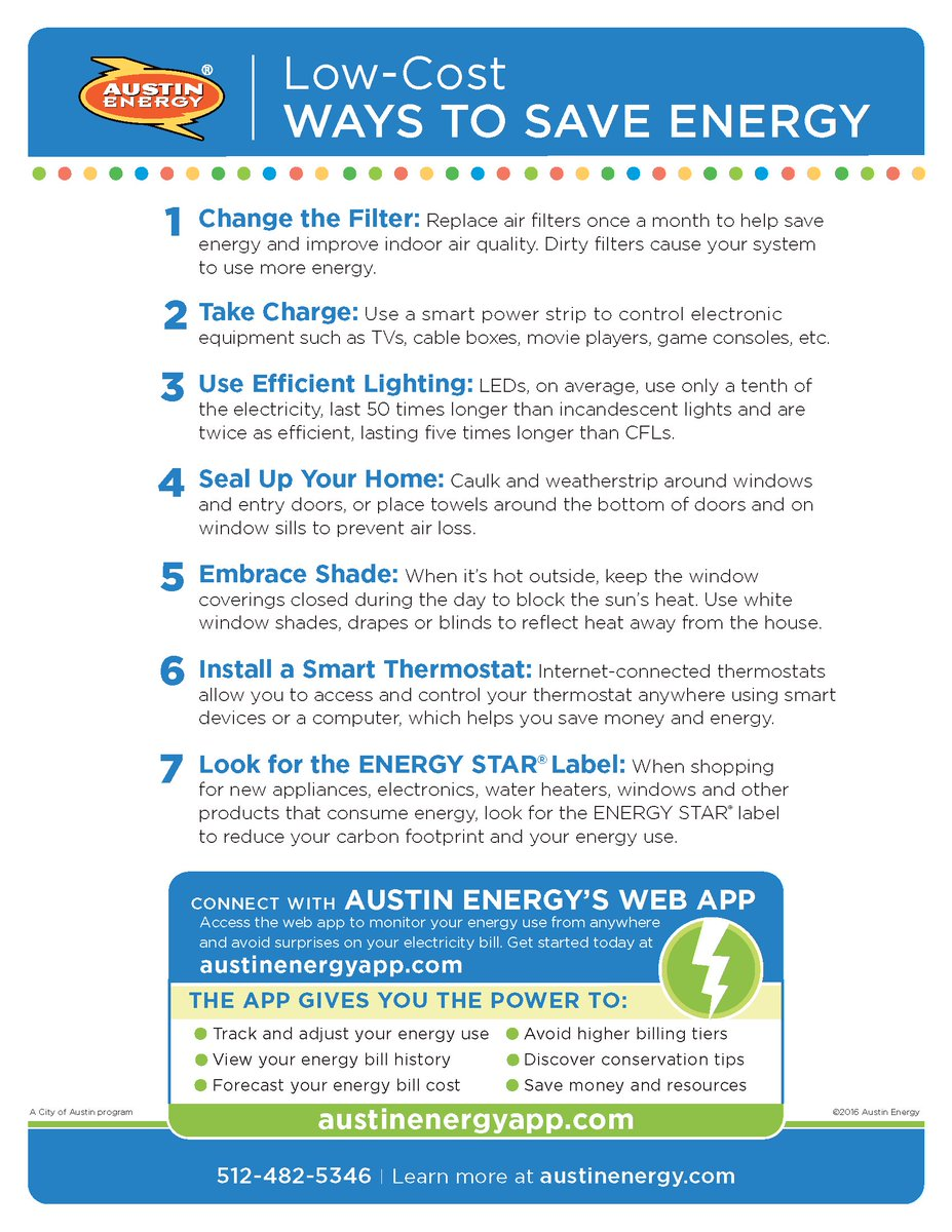 austin energy on twitter get summer savings by following these