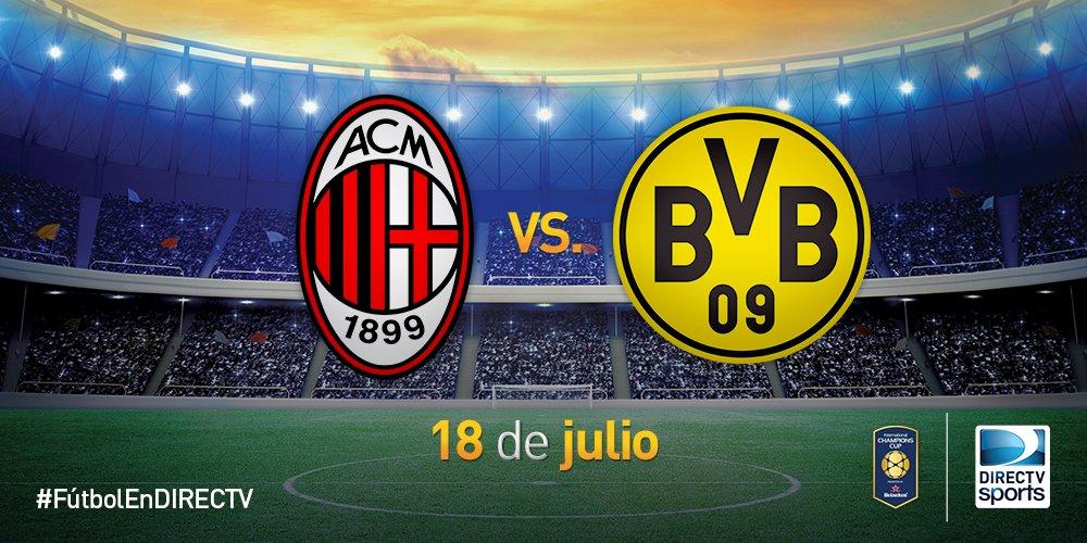Rojadirecta MILAN-Borussia Dortmund Streaming Video: dove vedere Diretta Gratis. Amichevole di Oggi 18 agosto 2017
