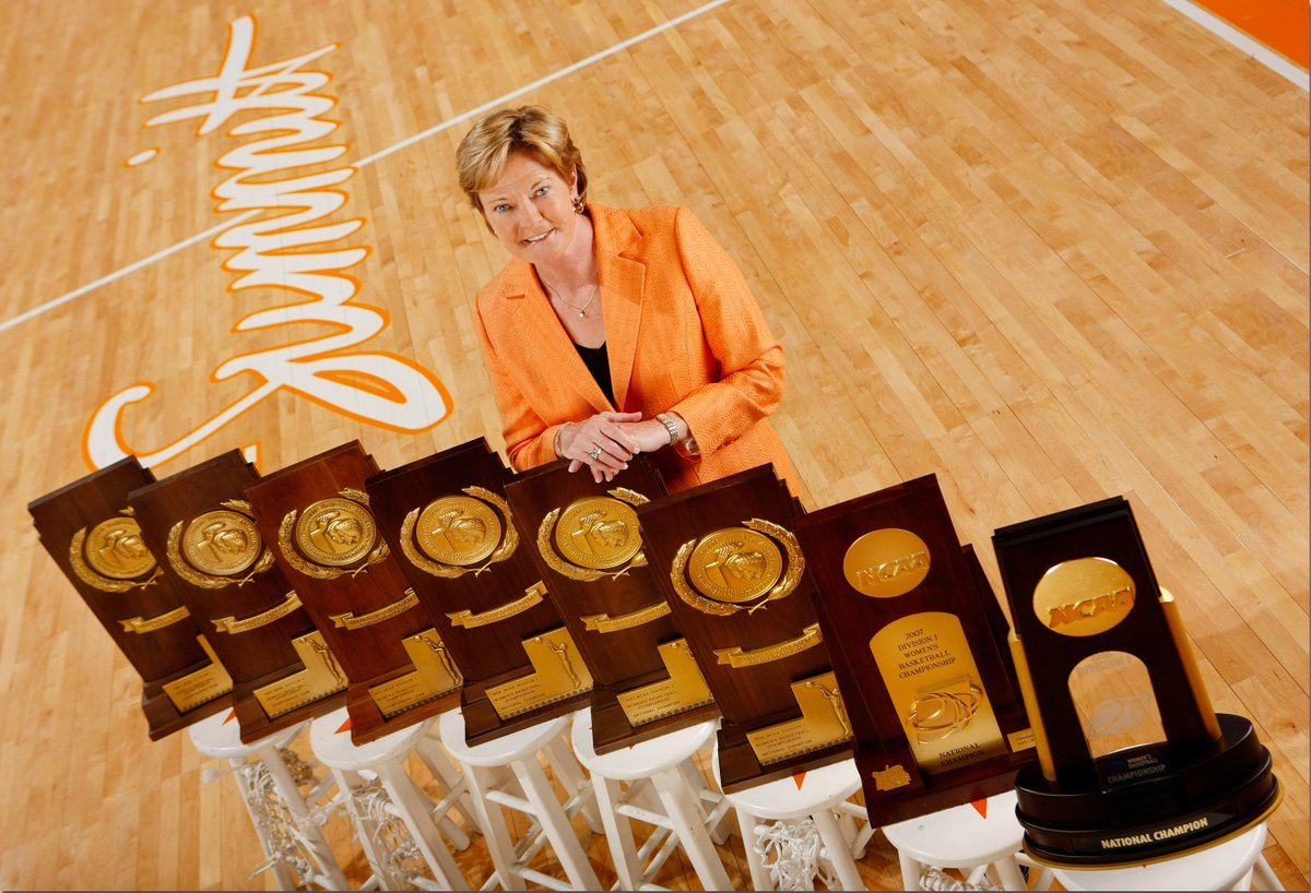 Born this day in 1952.  1,098 wins. 8 National Championships. 10 National Coach of the Year awards.  Mentor. Mother. Friend.  The best to ever to do it.  The legendary Pat Summitt.