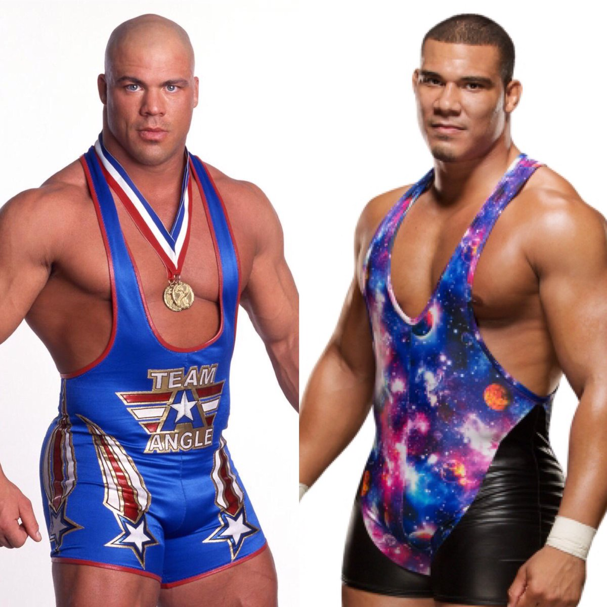 Like father, like son. #WWE #Raw @JasonJordanJJ @RealKurtAngle   https://t.co/U338IL5prz