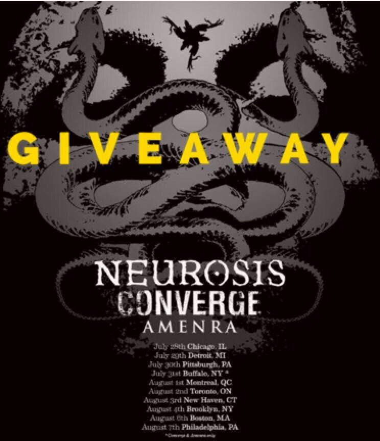 #Philly! #Giveaway! Visit our #Facebook to win 2 passes to #Neurosis, #Converge &amp; #Amenra @ #UnionTransfer 8/7!   http:// facebook.com/riotnerd  &nbsp;  <br>http://pic.twitter.com/YvtjeZ1ago